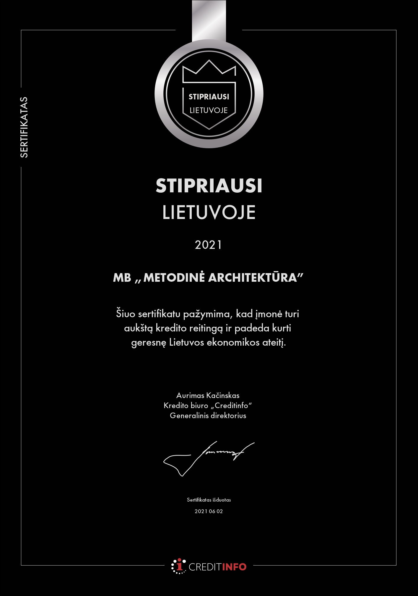 Certificate (87)